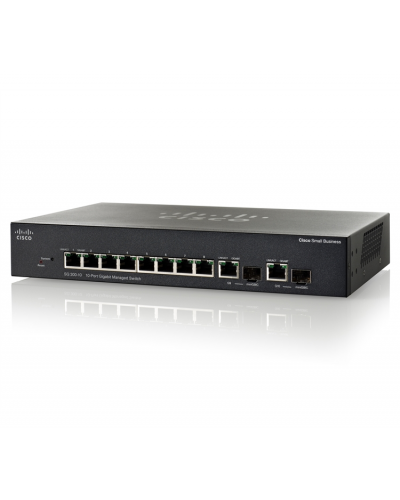 Cisco SG300-10 10-port Gigabit Managed Switch