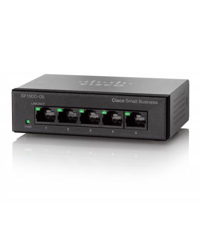 Cisco SF100D-05 5-Port 10/100 Desktop Switch