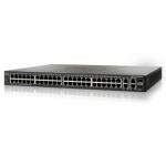 Cisco SF300-48P 48-port 10/100 PoE Managed Switch w/Gig Uplinks