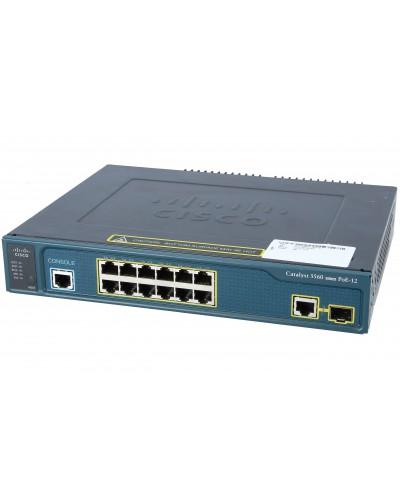 Коммутатор Cisco Catalyst WS-C3560-12PC-S