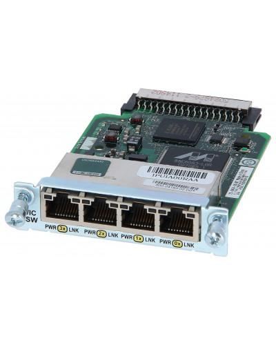 Сетевой Модуль Cisco HWIC-4ESW